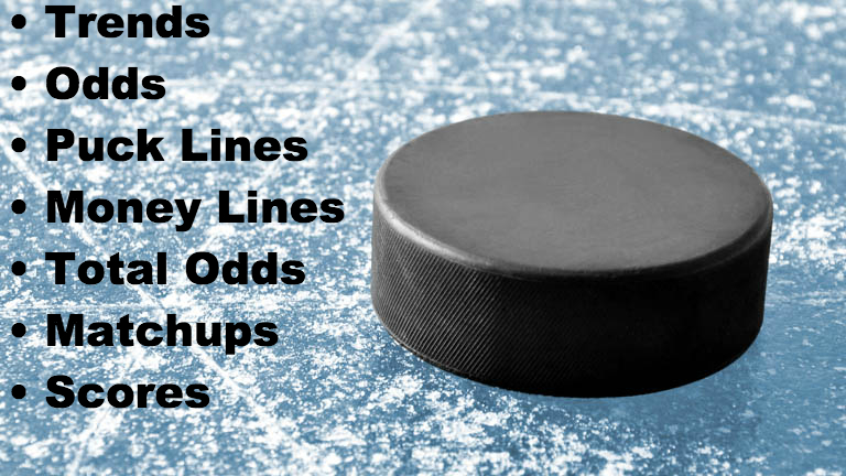 NHL Puck Lines